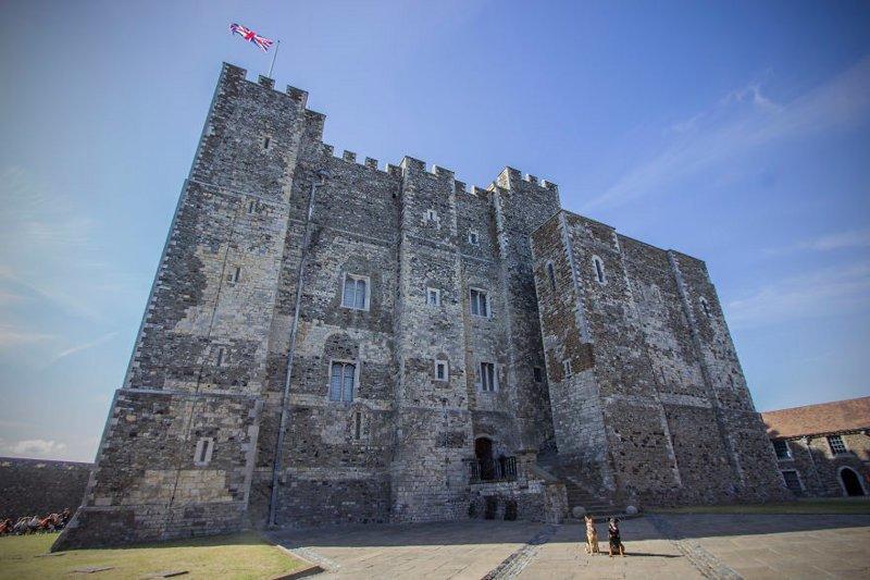 """""""Здесь очень много исторических зданий, и даже есть замок"""" Дувр, в мире, великобритания, город, жизнь, интересное, путешествия, фото"""