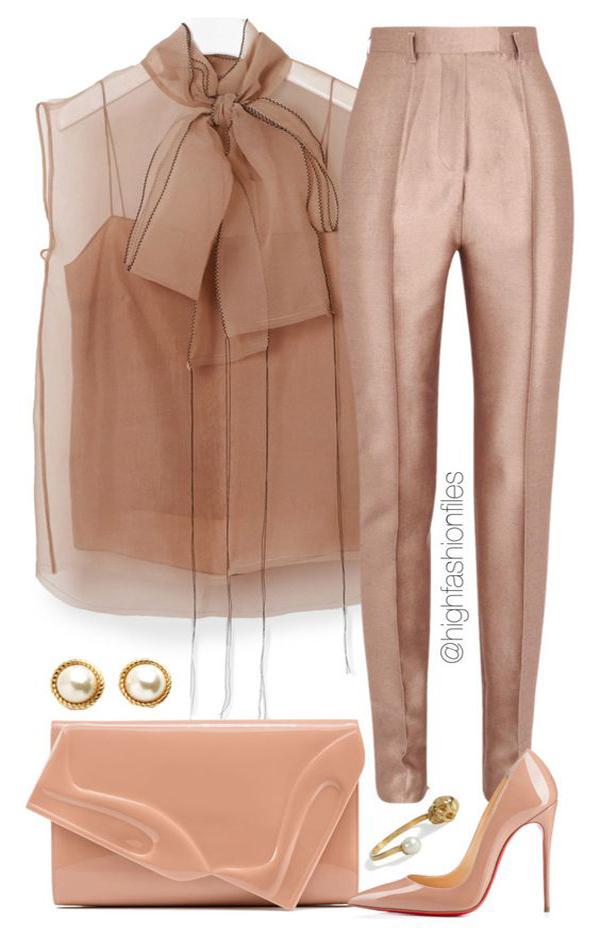 Идеальный вариант для любого дресс-кода: лучшие коктейльные образы с брюками