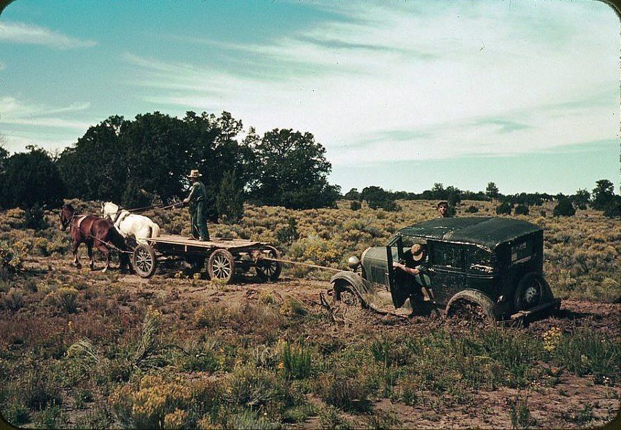 От лошадей к «Форду»: как «одомашнивали» Дикий Запад