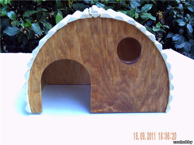 Деревянные домики для животных