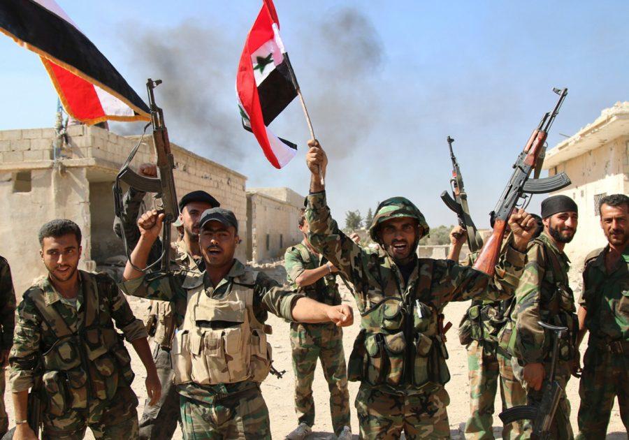 Восстание в Сирии: Горожане внезапно атаковали боевиков, не дав им напасть на Армию