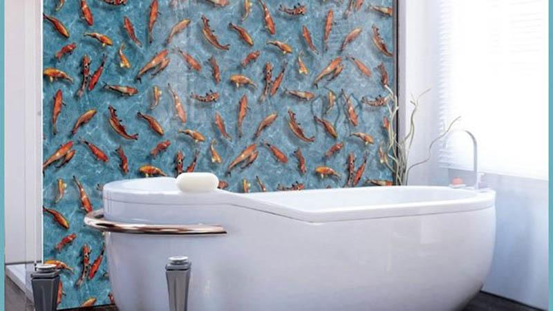 Самоклеющаяся пленка для ванной: клеим сами