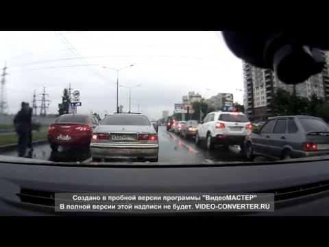 'Учитель' на дороге не на того нарвался