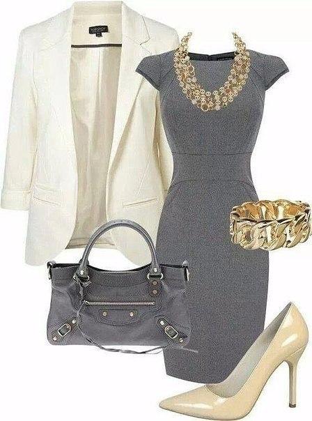 Элегантная классика: 6 стильных образов для бизнес леди