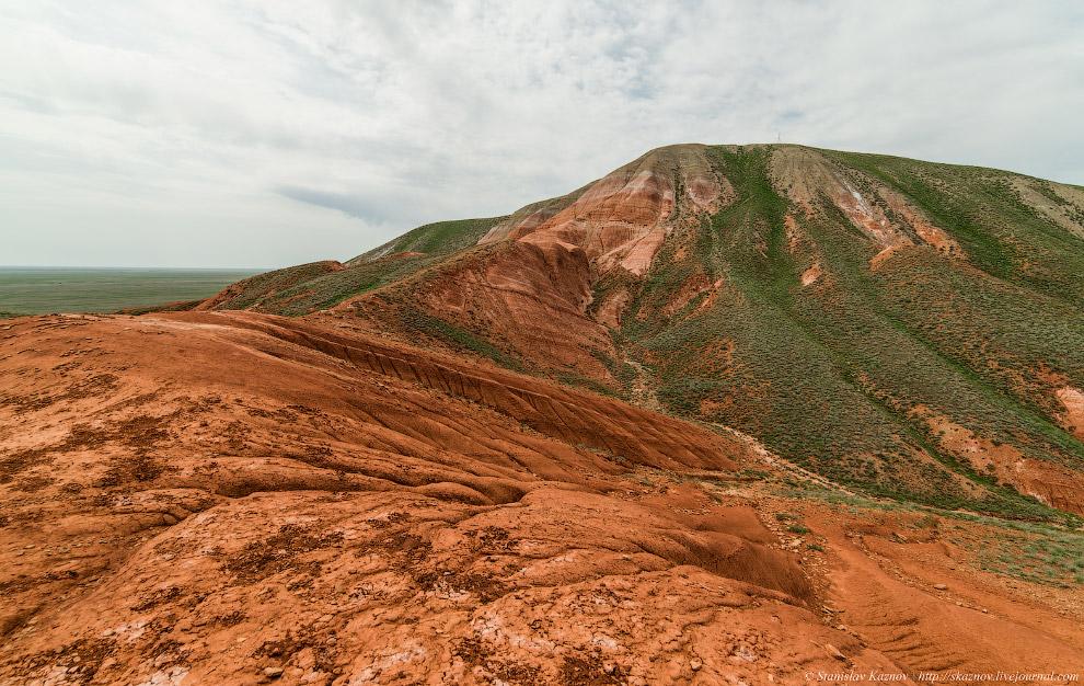Пейзажи красной планеты на горе Богдо