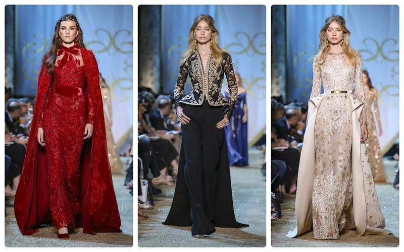 Elie Saab Haute Couture осен…