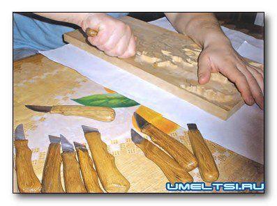 Самодельные ножи для резьбы по дереву