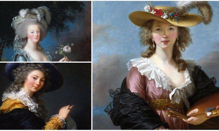 Мадам Лебрен — придворная портретистка Марии-Антуанетты