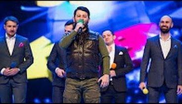 Галустян спародировал Кадырова на юбилее КВН