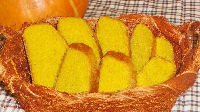 Вкуснейший, мягкий с нежной мякушкой, тыквенный хлеб