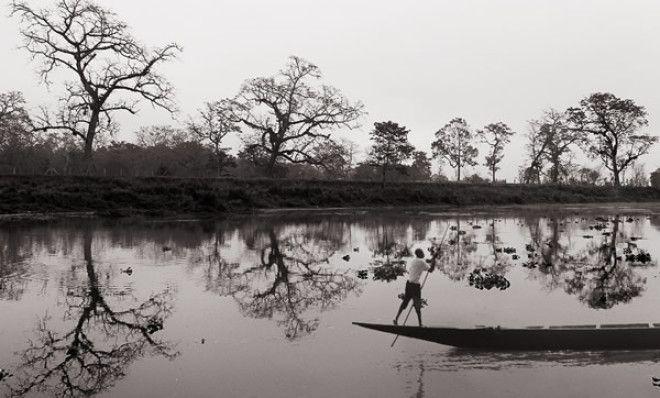 Рыбак в Катманду