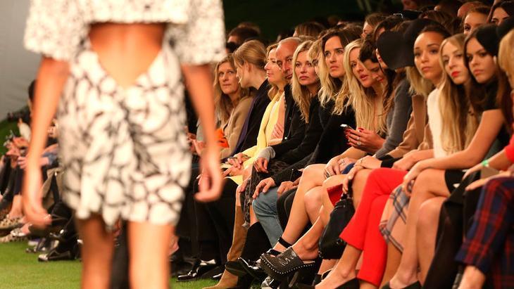 На лондонской Неделе моды