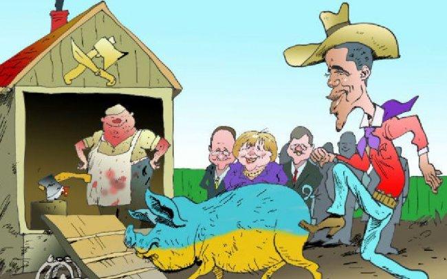 Санкционный скандал между США и ЕС больно ударит по Украине