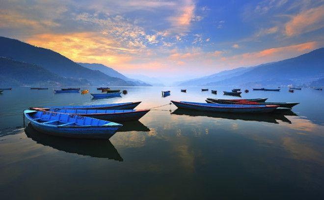 Озеро Фева, Покхара, Непал