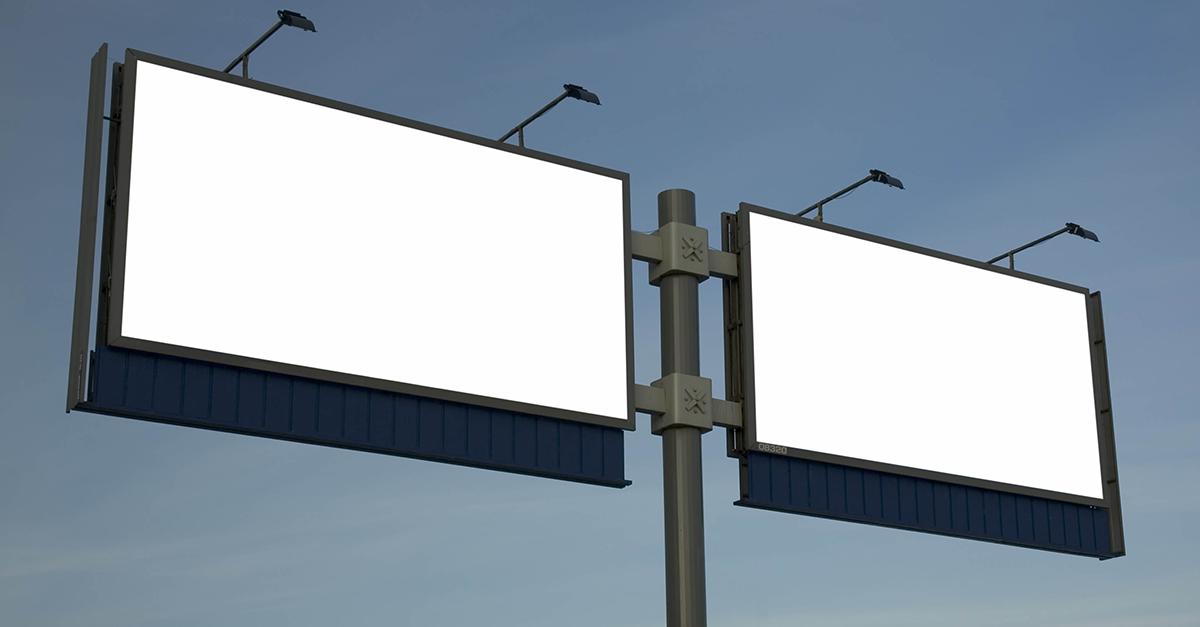 ФАС наказала предпринимателя за цитату из Евангелия на билборде