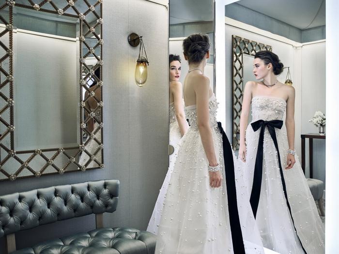 Свадебное платье от Рим Акра.