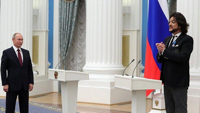Киркоров :Зачем мне Putin Team, я в пуле президентском