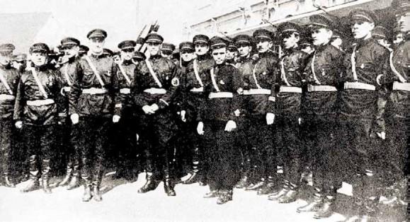 Русские фашисты в рядах самураев