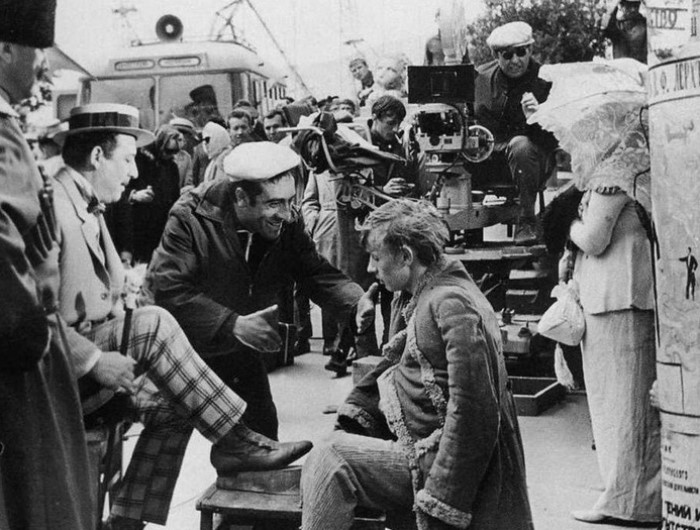 На съемках фильма *Новые приключения Неуловимых*, 1968 | Фото: liveinternet.ru