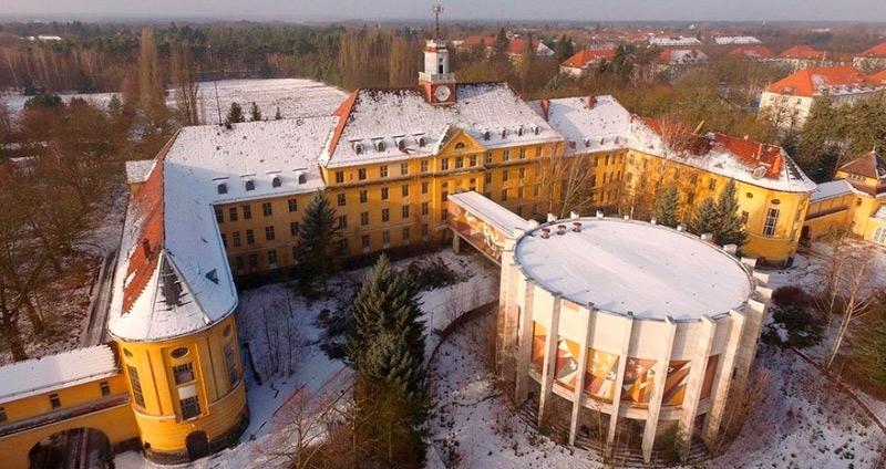 Заброшенный советский город-призрак в Германии