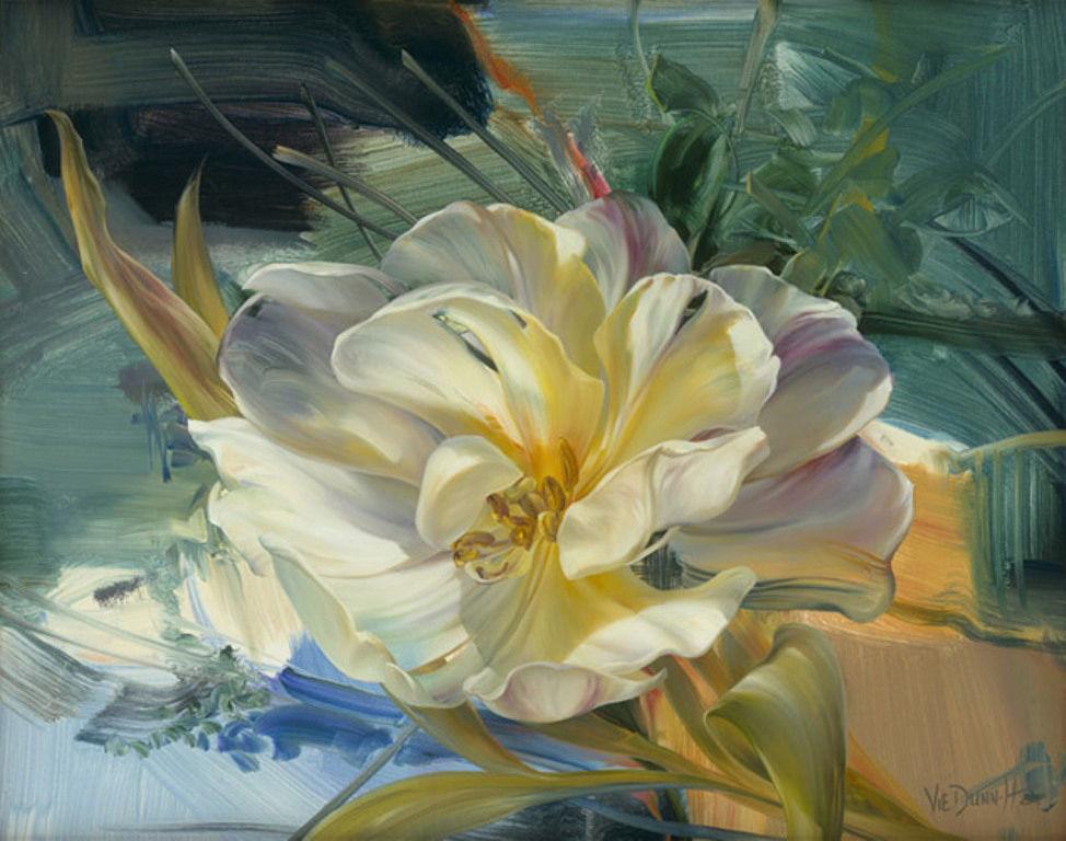 Цветочное великолепие художницы Vie Dunn-Harr