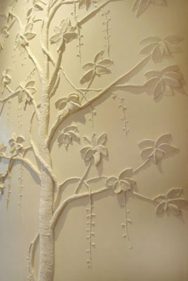Декоративное дерево на стене своими руками фото - Pacenote.Ru