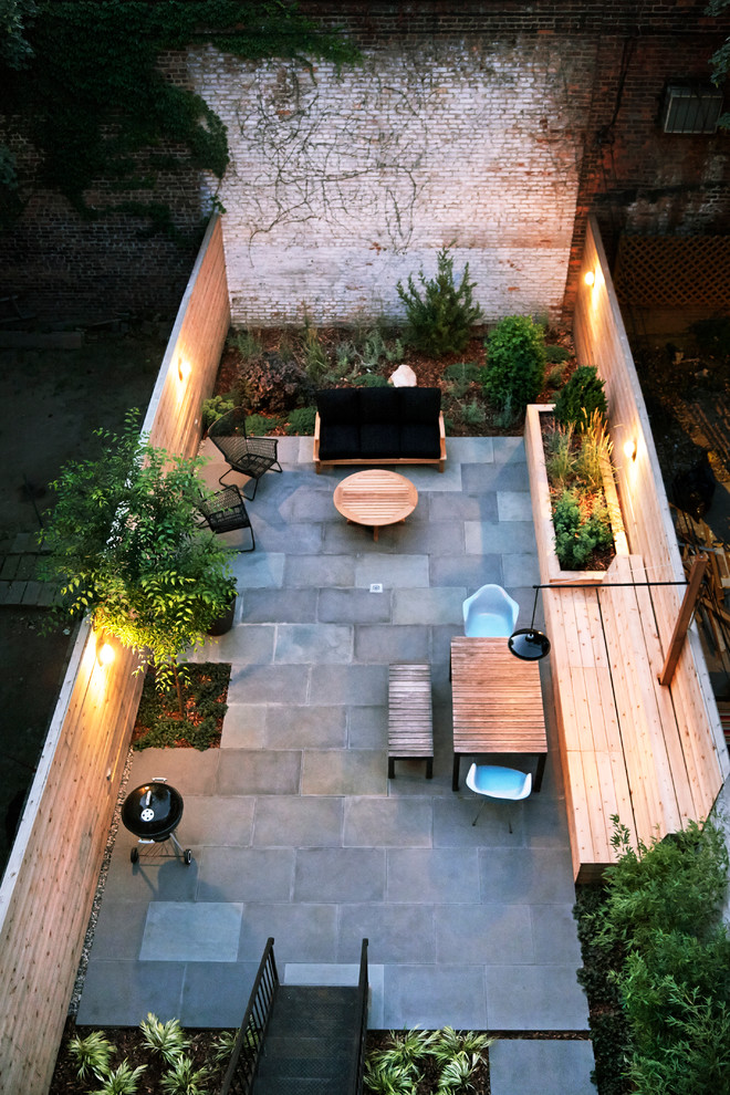 Дизайн заднего дворика