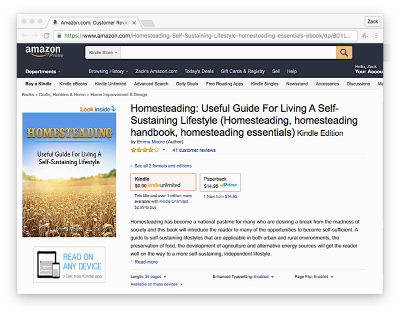 Россиянин из Ванкувера заработал три миллиона долларов, продавая поддельные книги на Amazon