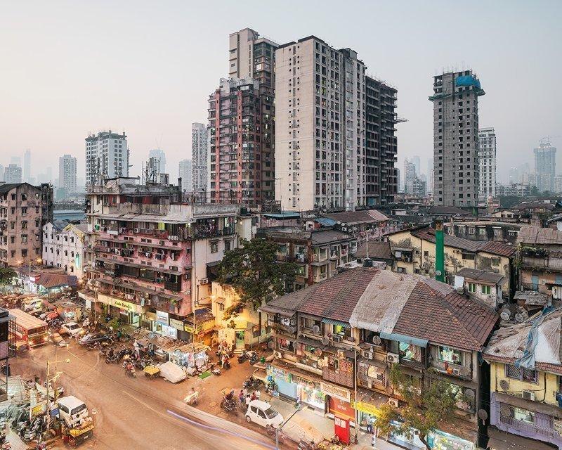 Богатство и нищета Мумбаи в объективе польского фотографа Мумбаи, индия, мачей лещчиньский, путешествия, трущобы, фотография