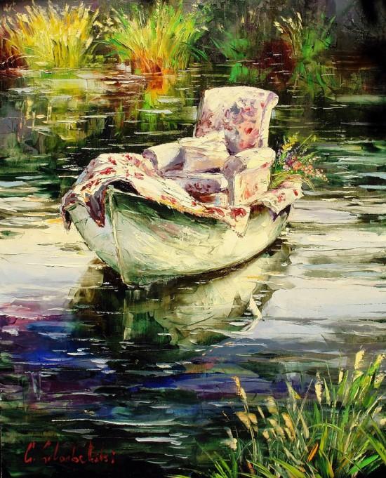 пейзажи и натюрморты Gleb Goloubetski - 08