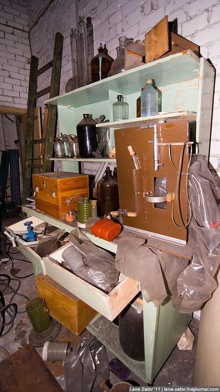 Заброшенное производство противогазов