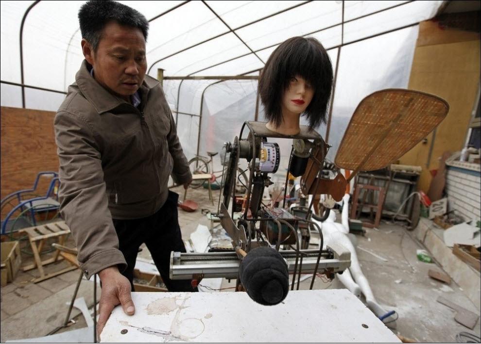 848 47 роботов китайского изобретателя