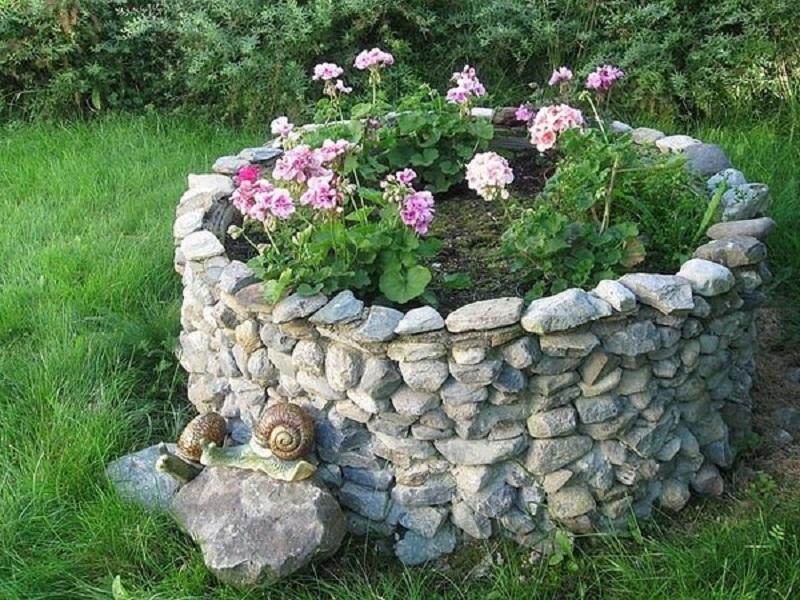 Огород из камней своими руками 803