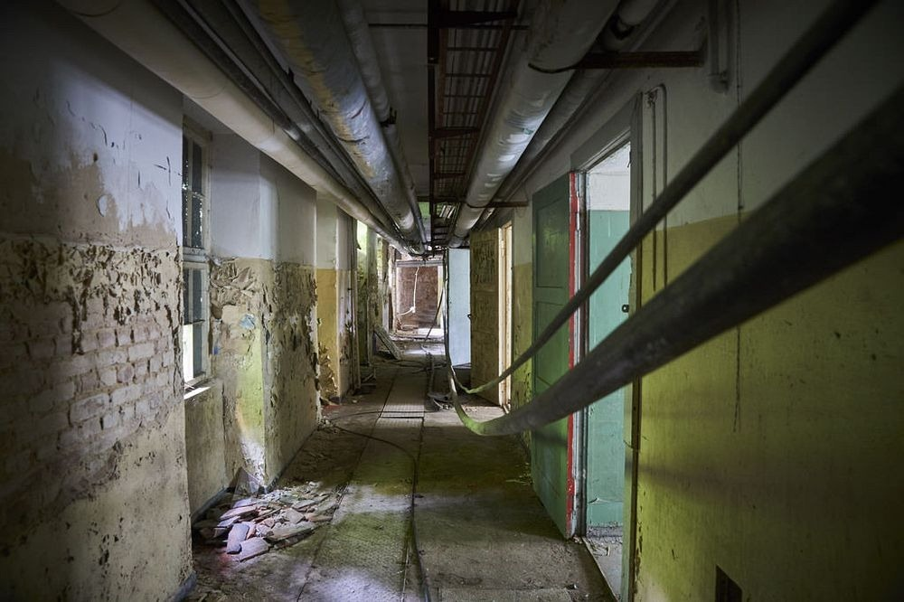 Прогулка по заброшенному советскому городку под Берлином