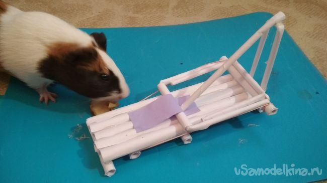 Как сделать простую мышеловку из бумаги, для безопасного лова мышей