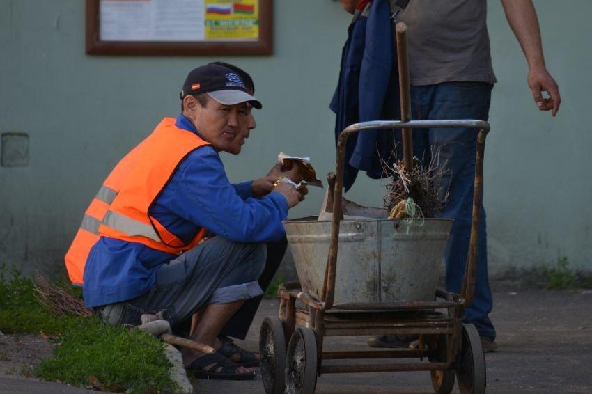 Россияне начали вытеснять мигрантов из доходных профессий
