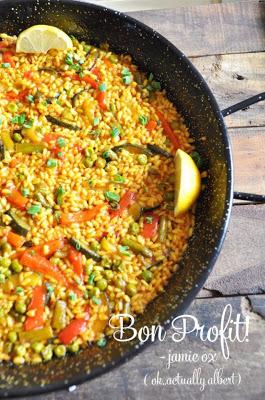 Испанская овощная паэлья