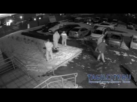 Падение детей в колодец в Нижнем Тагиле попало на видео