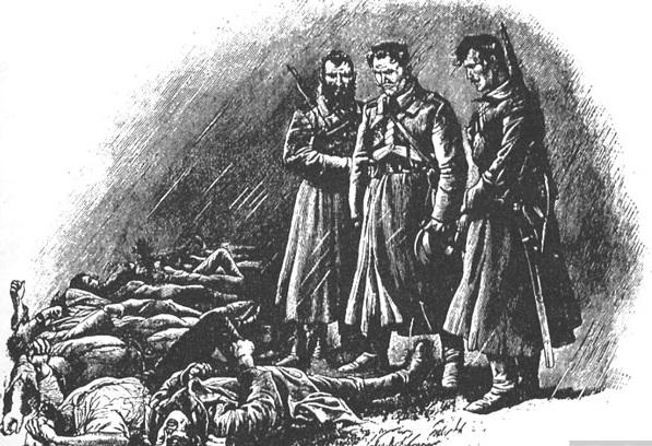 «Кровавая Пасха» и судьба казака-карателя Сенина