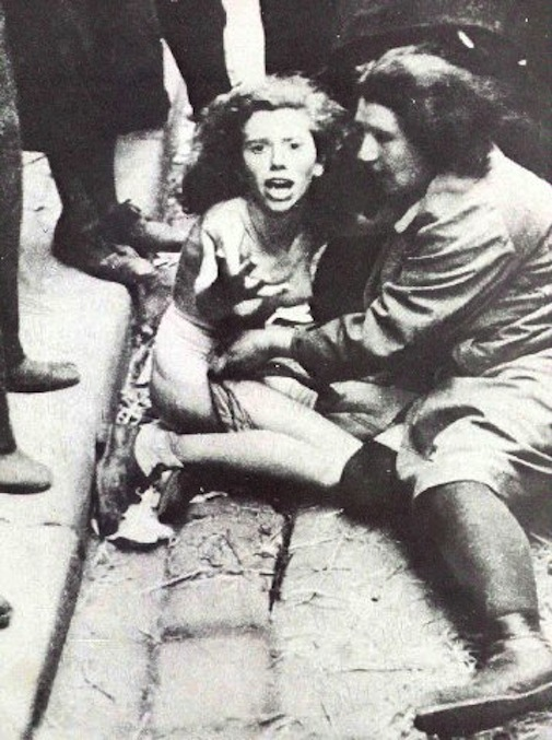 Зверства нацистов и бандеровцев против львовских евреев, фото - Киев.