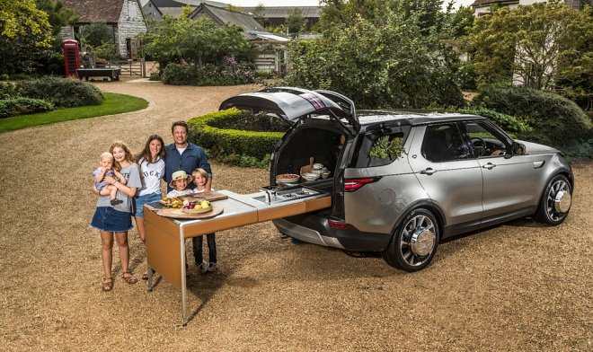 Как приготовить ужин с помощью Land Rover Discovery