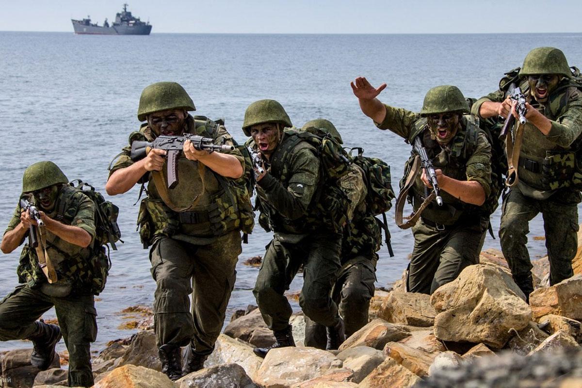 The Russian Marine Corps. Морская пехота России