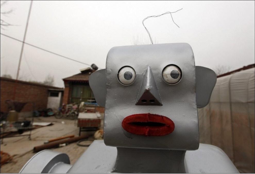 1177 47 роботов китайского изобретателя