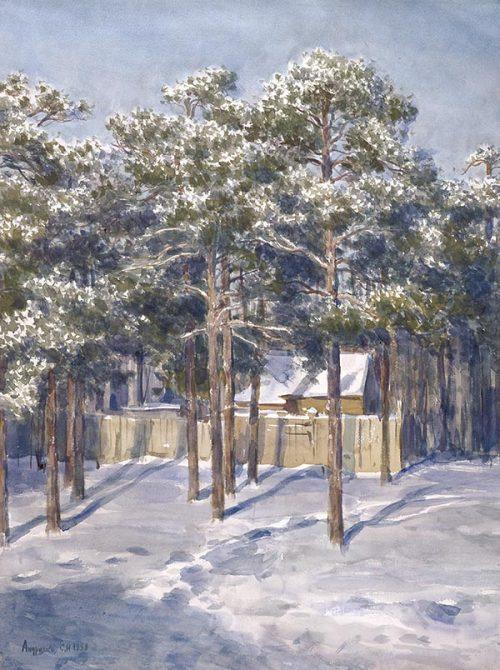 художник Сергея Анрияка картины 2 -18