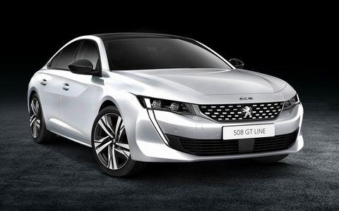 Новый Peugeot 508: стильный …