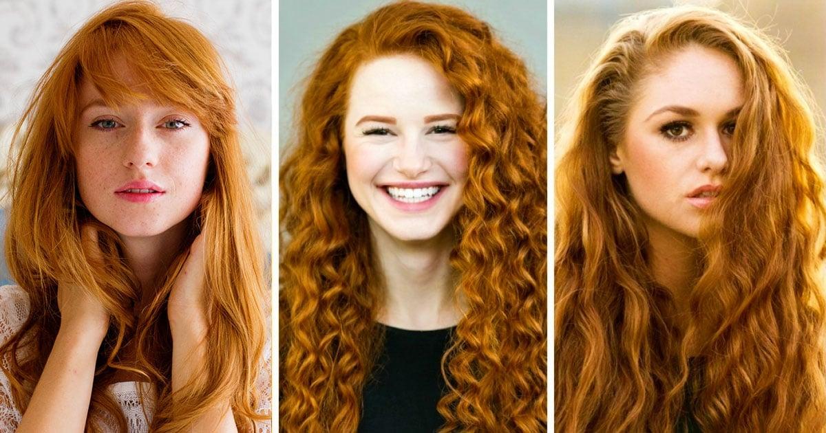 Невероятная красота рыжеволосых девушек!