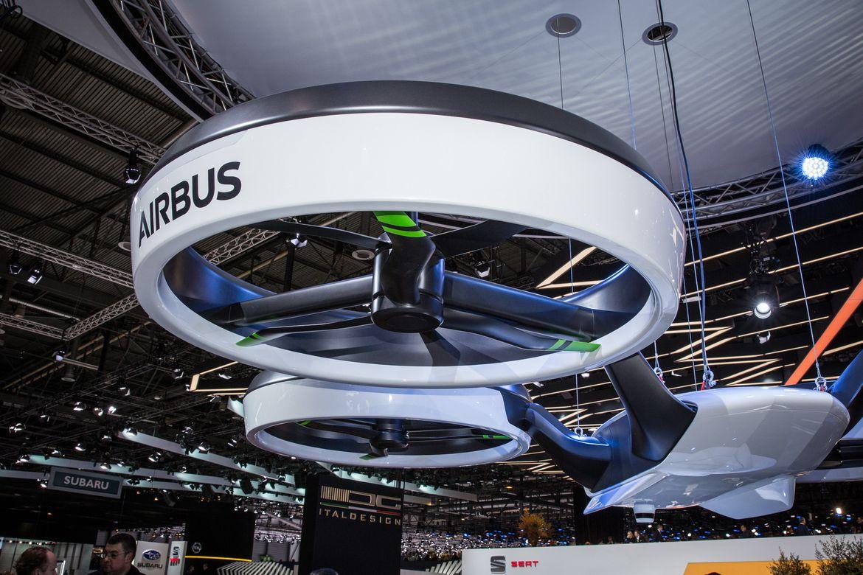 Airbus начнёт испытания пассажирских дронов в следующем году