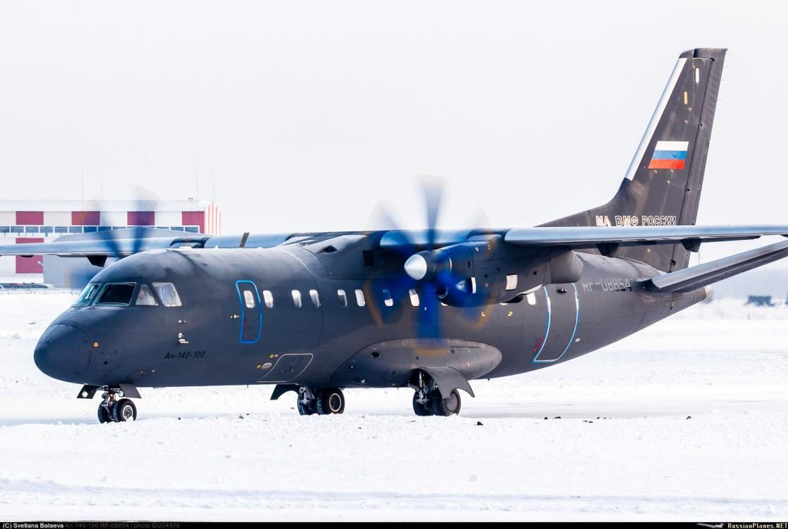 Тихоокеанский флот получил новый самолет Ан-140-100