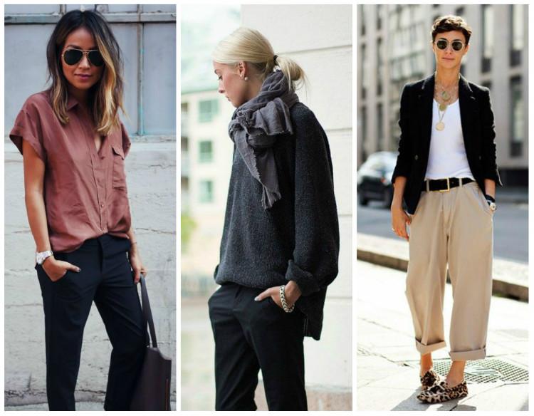Стиль Casual для женщин, фото: брюки