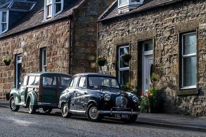 В Шотландии все напоминает о старине. / Фото: pikabu.ru